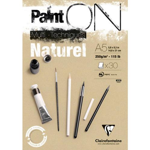 Clairefontaine PaintON Multitechniques Naturel