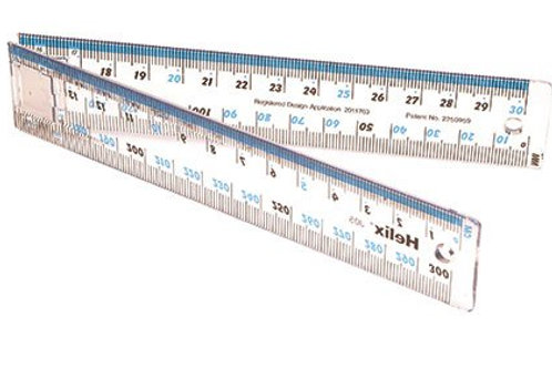 Helix Folding Ruler 30cm