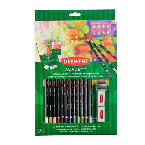 Derwent Academy Colouring Starter Set