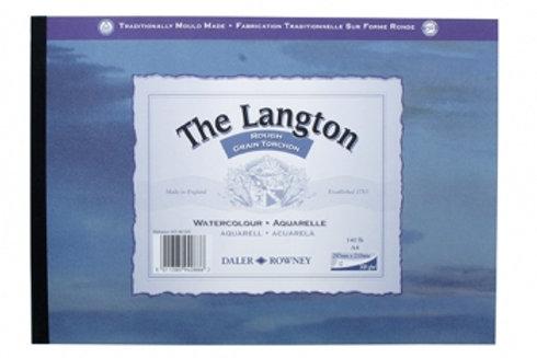Daler-Rowney Langton Watercolour Pad A5 Rough