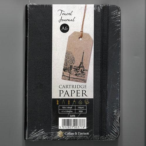 Collins & Davison Travel Journal/Sketchbook