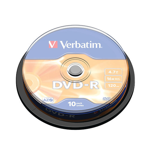 Verbatim DVD-R 4.7GB Pack of 10