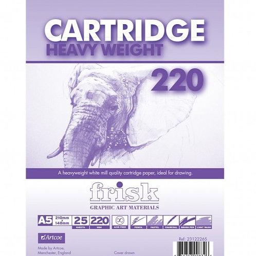 A5 Cartridge Pad 220 gsm