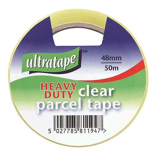 Ultratape Clear Parcel Tape