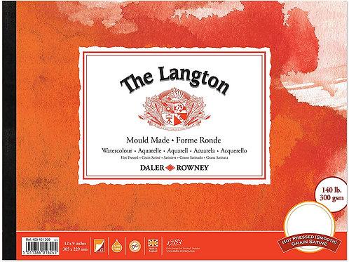 """Daler-Rowney Langton Gummed Hot Pressed 12 x 9"""""""