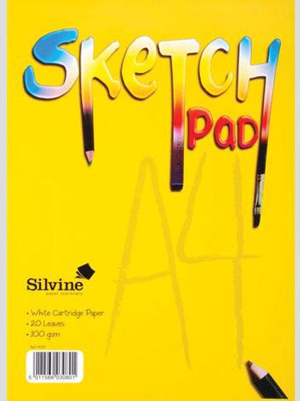 A4 Sketch Pad Silvine