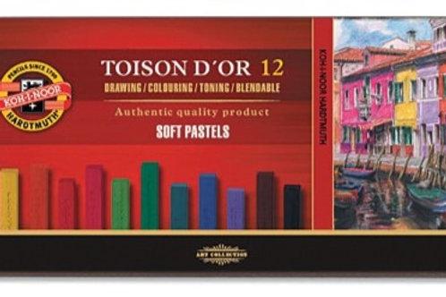 Toison D'Or Soft Pastels 12 Colours