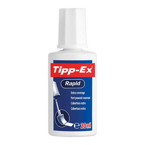 Tipp-Ex Rapid Correction Fluid 20ml Bottle