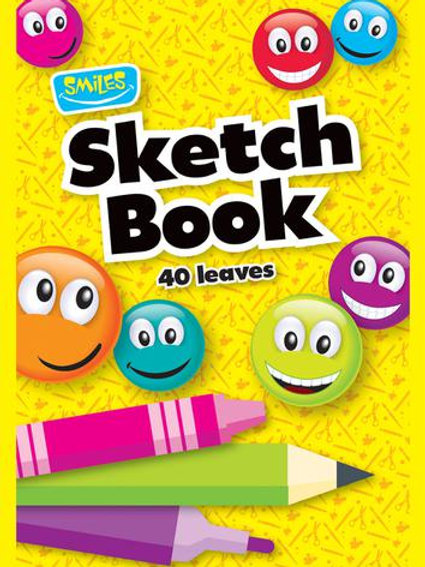 A4 Sketch Books 40 Leaves