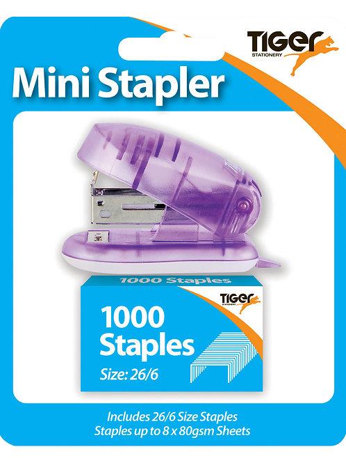 Tiger Mini Stapler with 1000 staples