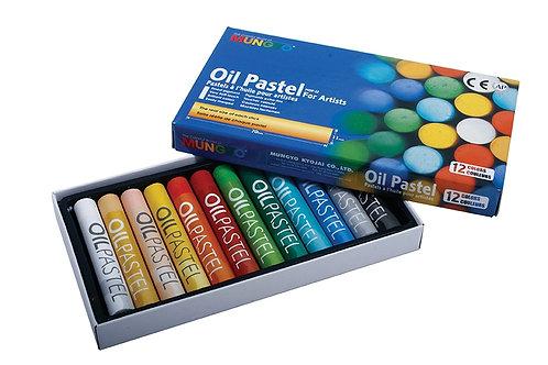 Mungyo Oil Pastels 12 Colours