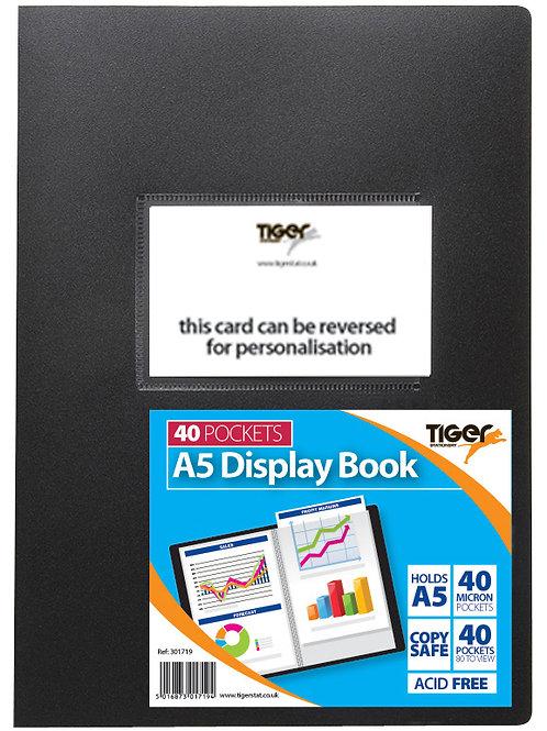 Tiger A5 Display Book 40 Pockets
