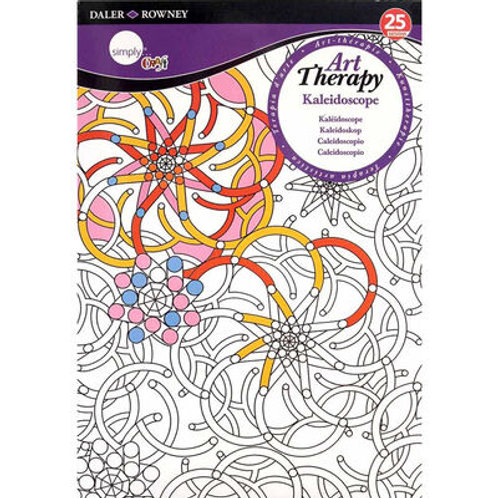 Art Therapy Colouring Kaleidoscope Small