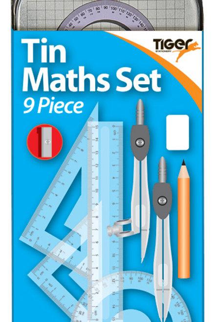 Tiger Tin Maths Set