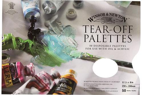 Tear-off Palettes Winsor & Newton