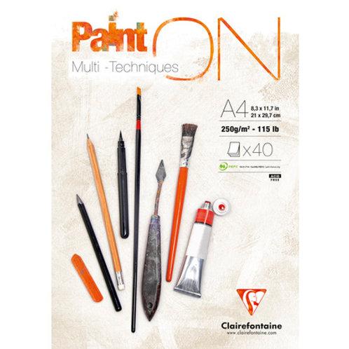 Clairefontaine PaintON Multitechniques White