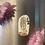 Thumbnail: 🌷 Tiny Dog & Sunset Window Watercolor Magnet