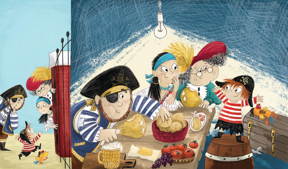 Pirates Don't Go To School