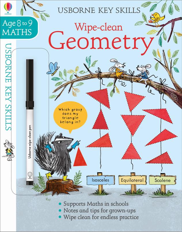 Usborne Key Skills 8-9 Geometry © Usborne Publishing
