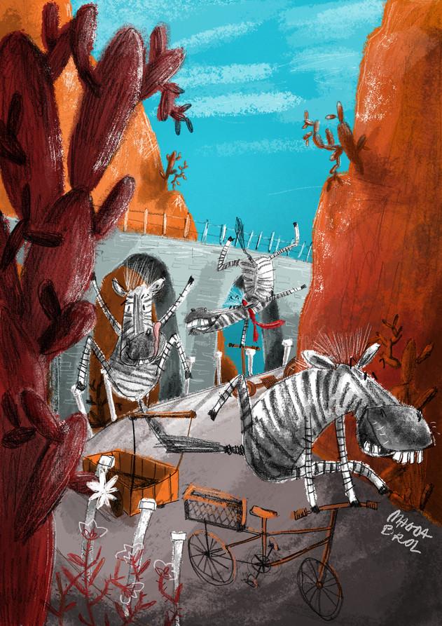 Crazy zebras