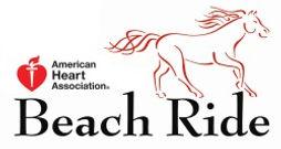 american heart association beach ride myrtle beach sc horse equine vet