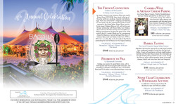 2018 Bacchus Events Club Experience Magazine