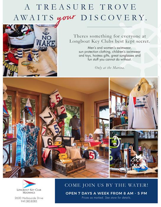 2020 Longboat Key Club Ships Store ad