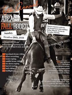 2019 Arcadia Rodeo flyer