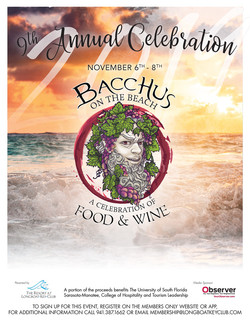 2019 Bacchus Flyer Design