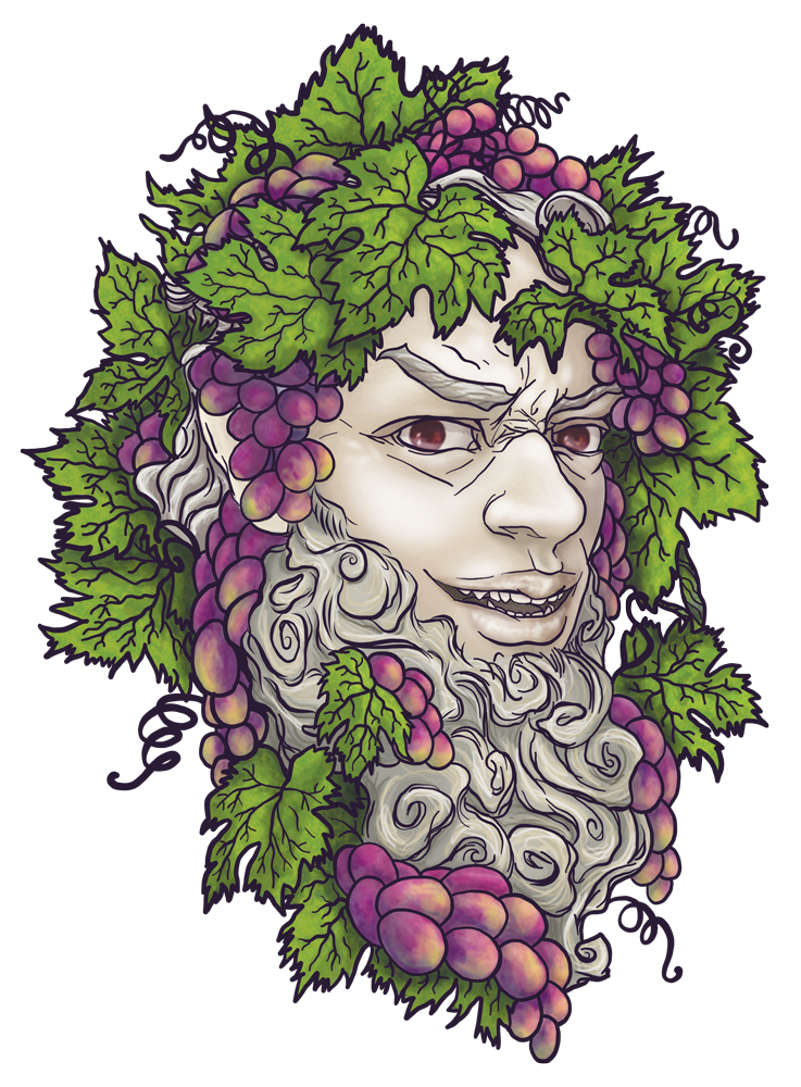 2019 Bacchus Illustration