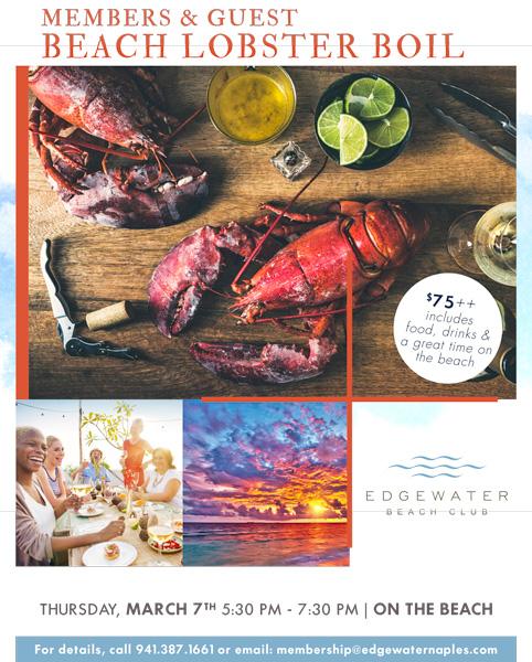 2019 Edgewater Beach event Ad