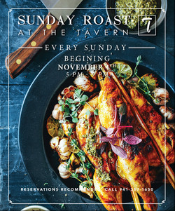 2018 Sunday Roast Magazine Ad