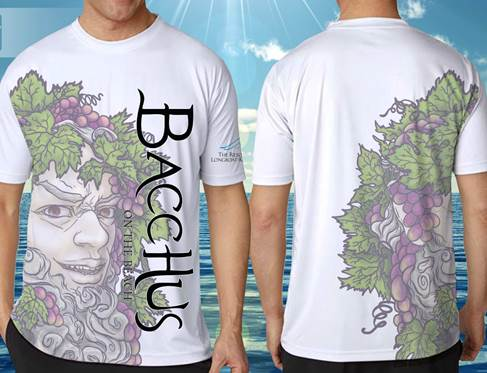 Bacchus T-shirt Final Product