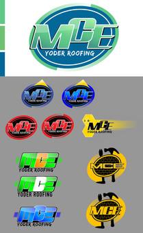 2017 Logo Designs MCE Yoder Roofing