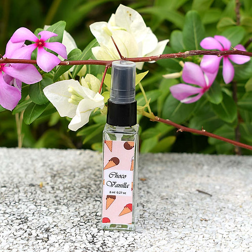 Niyor Vanilla Chocolate Alcohol Free Child Friendly Fragrance Pocket Perfume