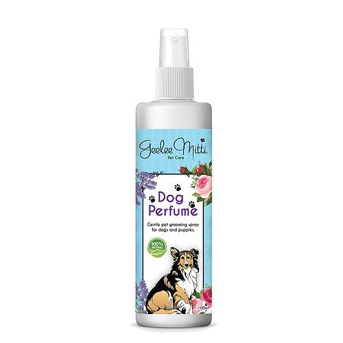 Dog Perfume Deodorant & Grooming Spray For Coat Softening