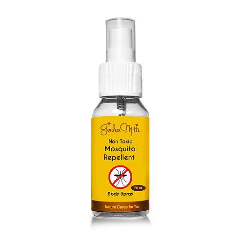 Safe Herbal Anti-Mosquito Body Spray