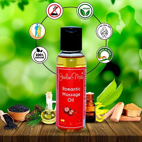 GeeleeMitti Pure, Natural Romantic Aphrodisiac Aroma Massage Sensual Oil