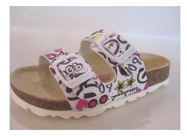 Mädchen Tieffussbett Sandale mit Schnalle