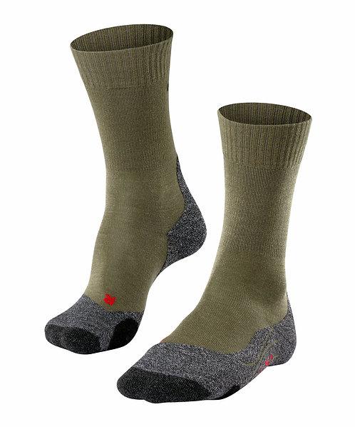 FALKE TK2 Herren Wander-Socken / olive