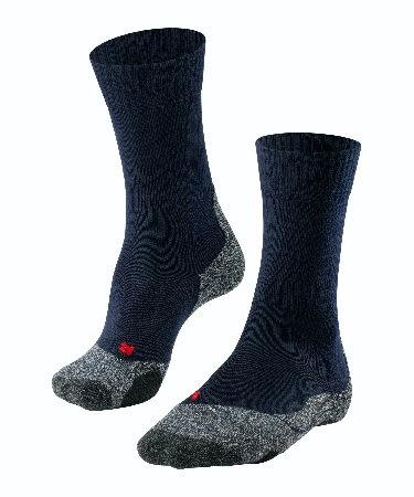 FALKE TK2 Damen Wander-Socken / blau
