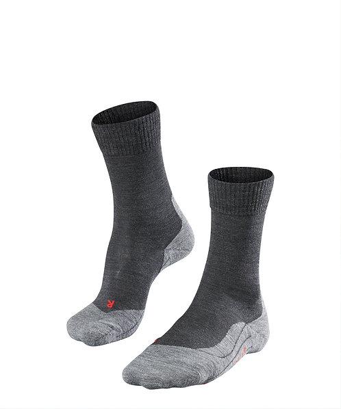 FALKE TK5 Damen Wander-Socken / schwarz