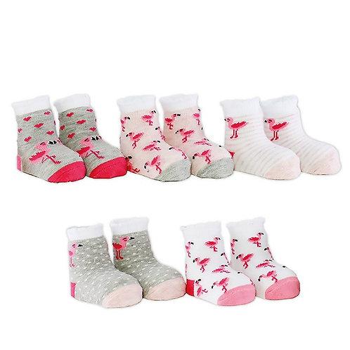 Babysocken  / Flo The Flamingo