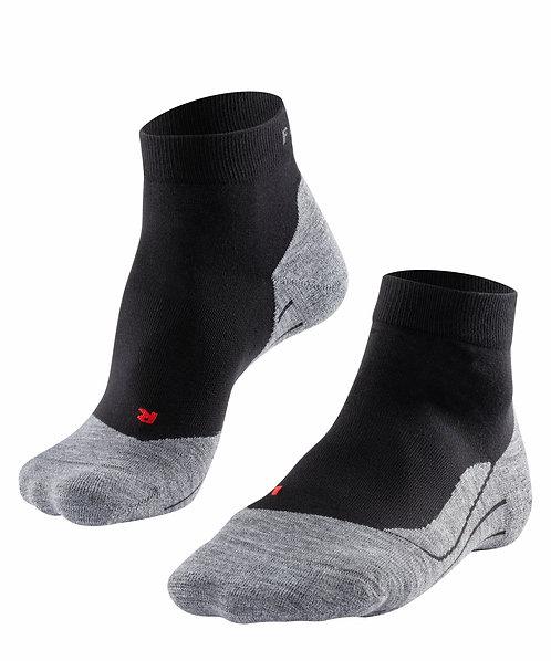 FALKE TK5  Damen short Socken / schwarz,grau