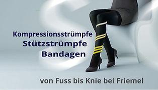 Kompressionsstrümpfe und Bandagen, Stütz