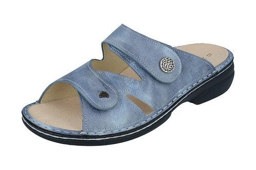 Finn Comfort Torbole jeans Pantolette Hausschuh für lose Einlagen