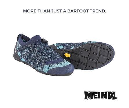 Meindl Barfuss Schuh Blau oder Schwarz
