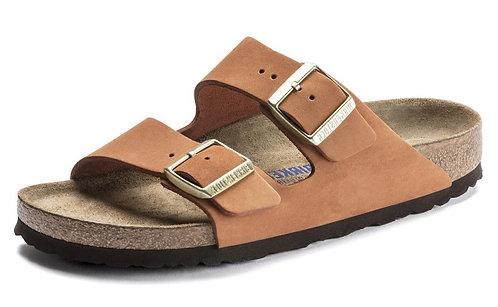 Birkenstock /Arizona Weichbettung Nubukleder / Sandale