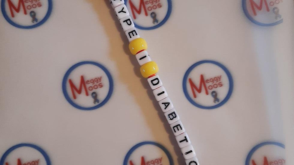 Iron Man Type 1 Diabetic Keyring