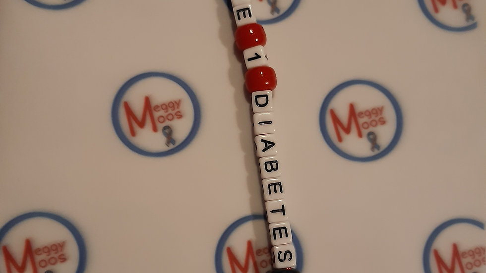 Mickey Mouse Type 1 Diabetes Keyring